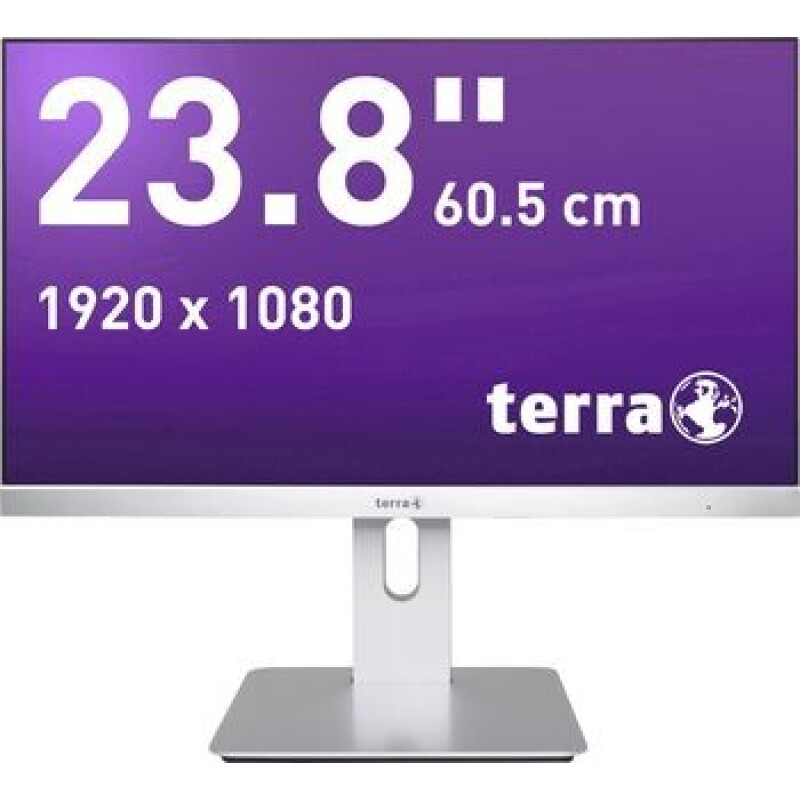 Terra LED 2462W PV LED-Monitor 60.5 cm (23.8 Zoll) EEK A+ (A+ - F) 1920 x 1080 Pixel Full HD 4 ms Audio-Line-in