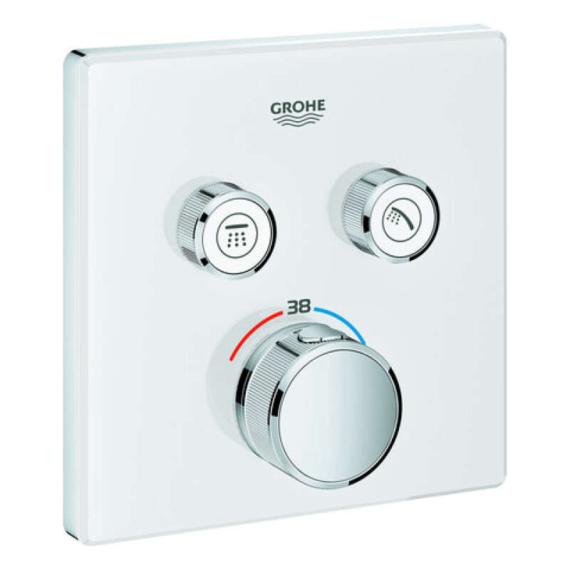 Grohe GrohTherm SmartControl Thermostat mit 2 Absperrventilen 29156LS0