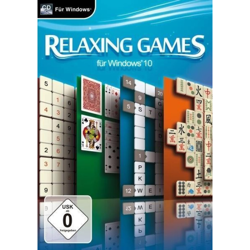 Relaxing Games für Windows 10. Für Windows Vista/7/8/8.1/10 (CD-ROM)