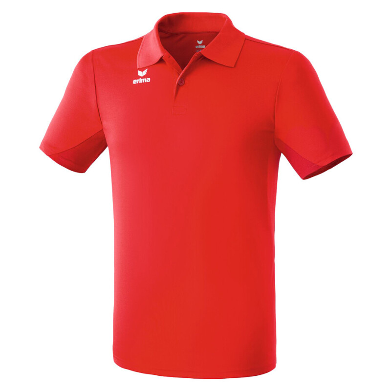 Erima Funktions Polo Shirt rot Kinder