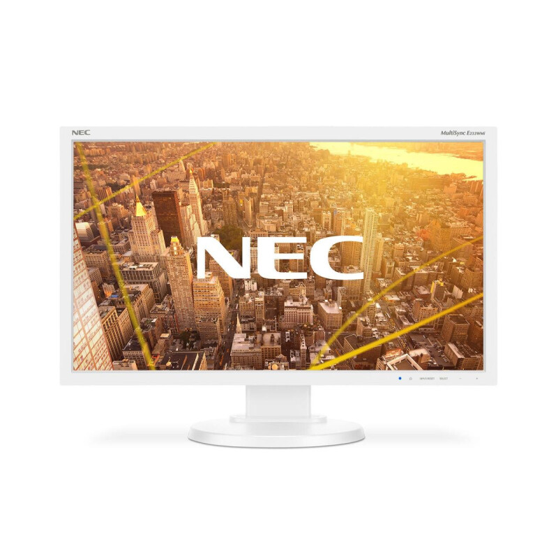 NEC Monitor MultiSync E233WMi-WH LED-Display 58,4 cm (23