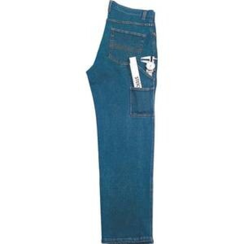 Stretch Workjeans, stonewashed