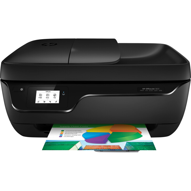 HP Officejet 3831 Multifunktionsdrucker, (WLAN (Wi-Fi)