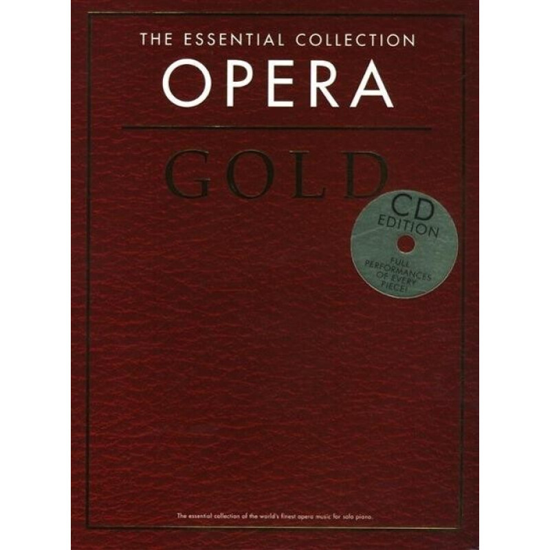 THE EASY PIANO COLLECTION OPERA GOLD PIANO BOOK/CD (Taschenbuch)