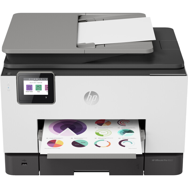 HP Officejet Pro 9022 All-in-One Tintendrucker Multifunktion mit Fax - Farbe - Tinte
