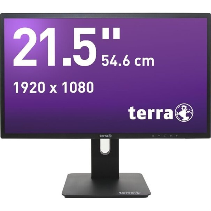 Monitor ,tft , Terra LED 2256W PV schwarz DP, Hdmi Greenline Plus