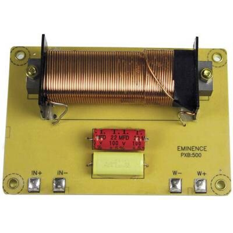 Eminence EPXB500 Low-Pass Filter 500 Hz Lautsprecher-Frequenzweiche