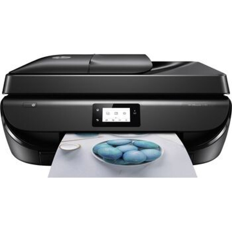 HP OfficeJet 5230 All-in-One Farb Tintenstrahl Multifunktionsdrucker A4 Drucker, Scanner, Kopierer, Fax WLAN, D