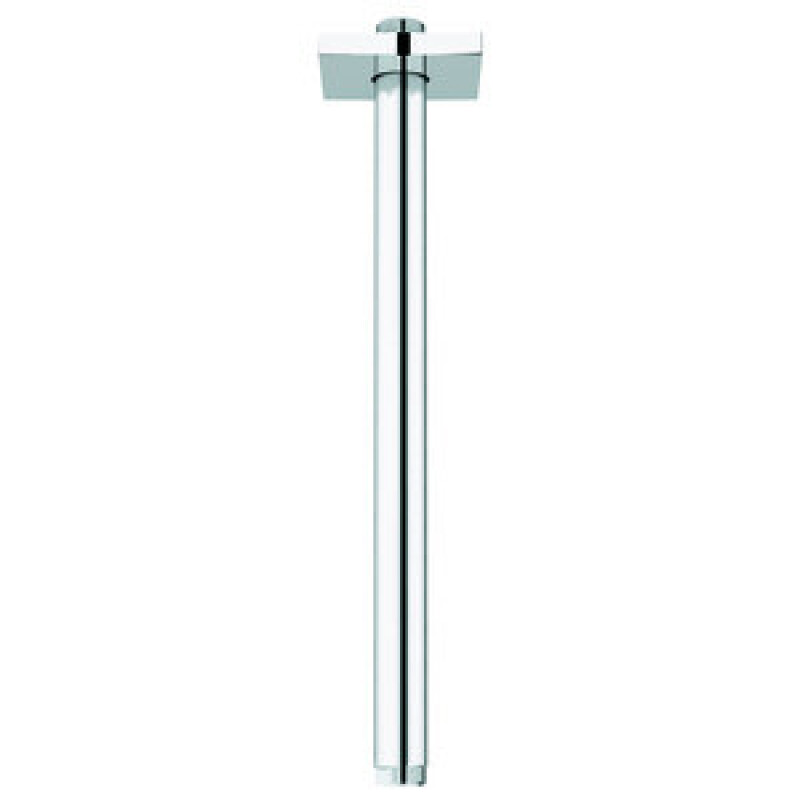 GROHE Deckenauslass Rainshower 27484 eckige Rosette Länge 292mm chrom