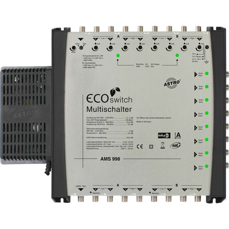 Astro Systembasisgert kaskadierbar AMS 998 ECOswitch