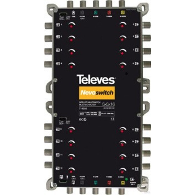 Televes MS516C 5/16 Multisch. Nevo receiverpow.