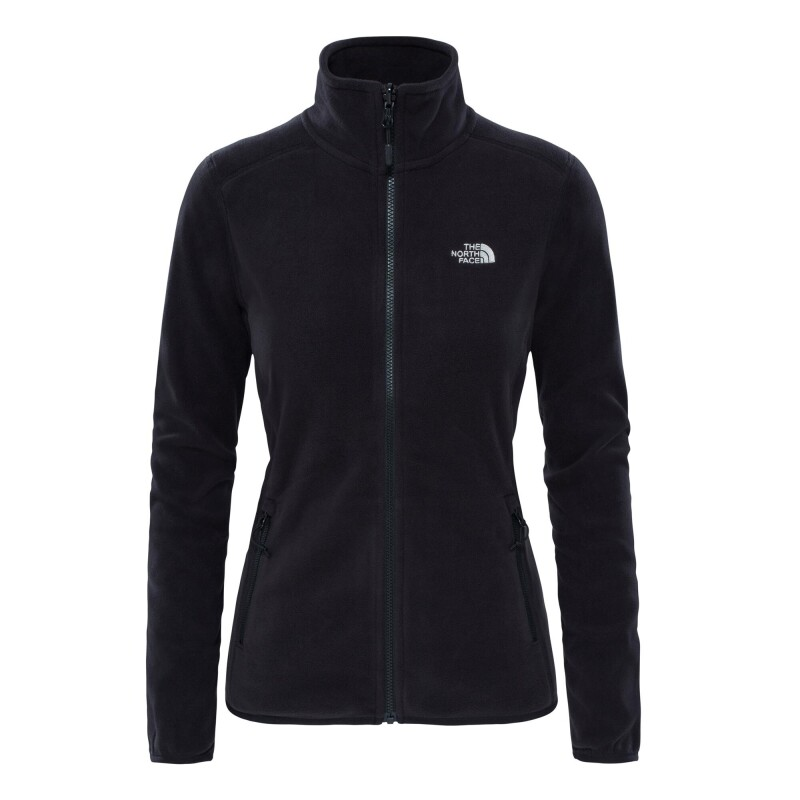 The North Face W 100 Glacier Full Zip Damen Fleecejacke schwarz Gr. L