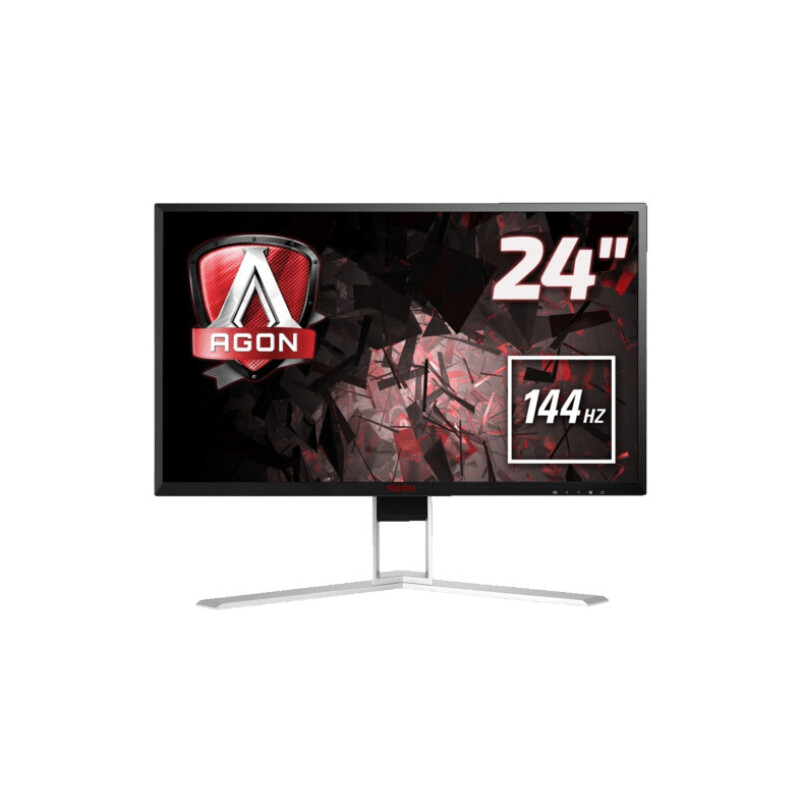 AOC AGON AG241QX 23.8 Zoll QHD Gaming Monitor (1 ms Reaktionszeit, FreeSync, 144 Hz)