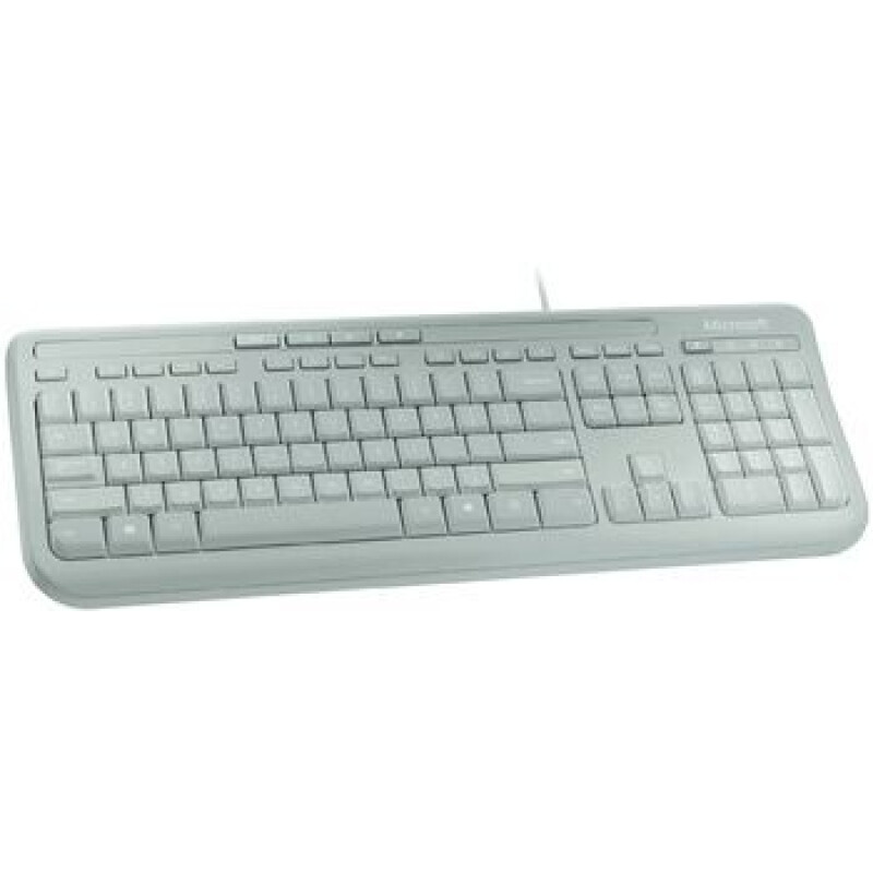 Microsoft Wired Keyboard 600 Deutsch Weiß