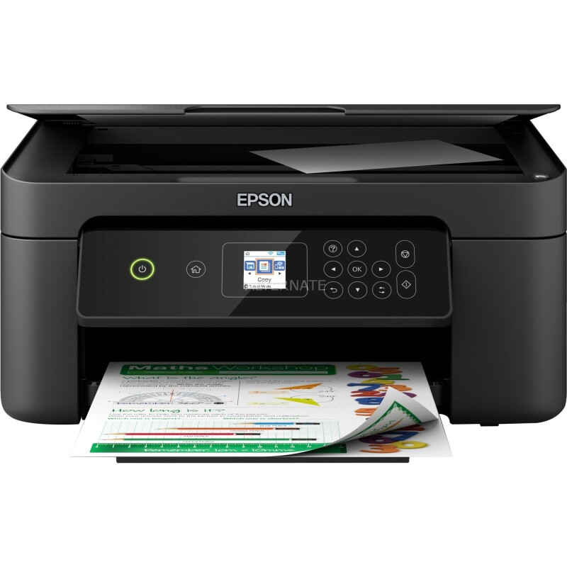 Epson Expression Home XP-3100 Farb Tintenstrahl Multifunktionsdrucker A4 Drucker, Scanner, Kopierer WLAN, Duple