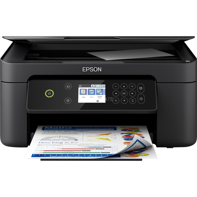Epson Expression Home XP-4100 Farb Tintenstrahl Multifunktionsdrucker A4 Drucker, Scanner, Kopierer WLAN, Duple