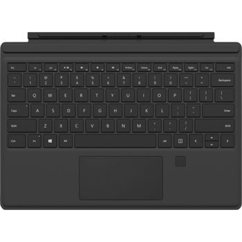 Microsoft Surface Pro Type Cover Fingerabdruck-ID Tablet-Tastatur