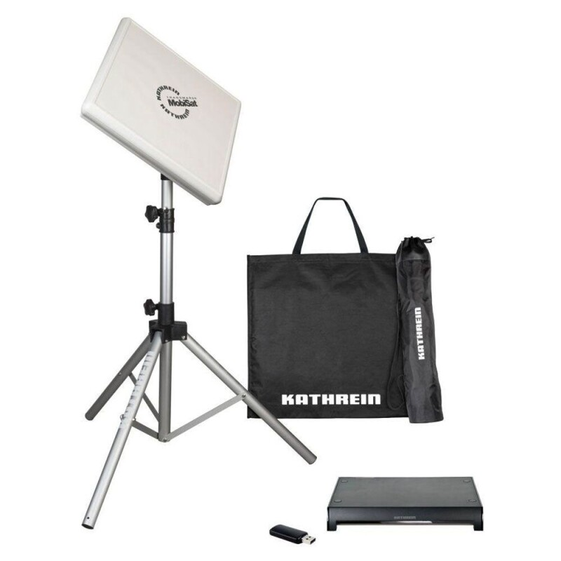 Kathrein HDS 166 plus Antennen- Set Streaming Satelliten Anlage Camping Twin mobil