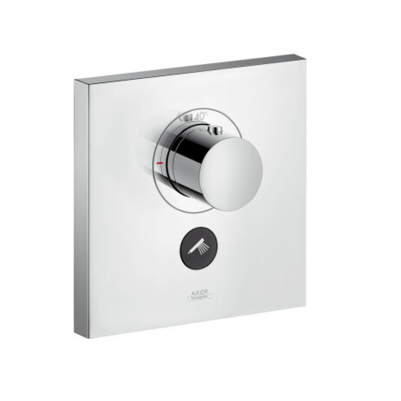Hansgrohe Thermostat Unterputz Axor ShowerSelect Highflow FS 1 Verbraucher quadr.chrom, 36716000