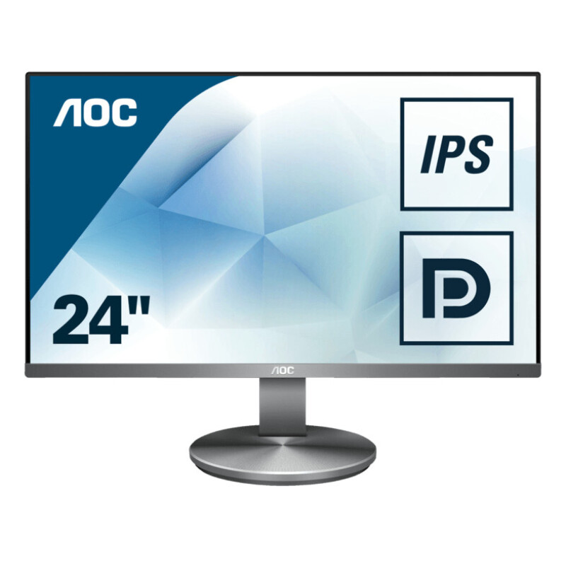 AOC I2490VXQ/BT 23.8 Zoll Full-HD Office Monitor (4 ms Reaktionszeit, 60 Hz)