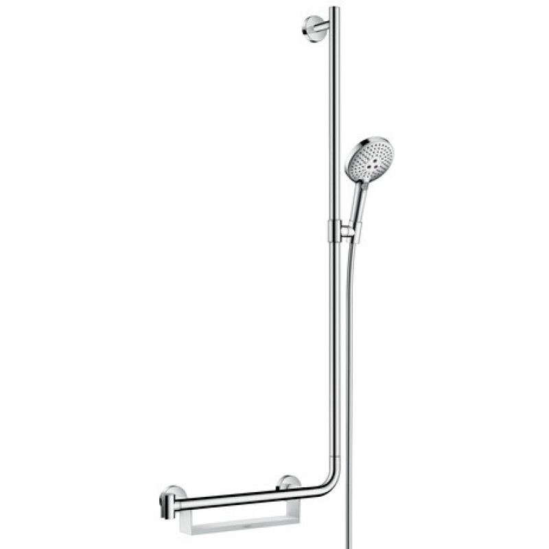 Hansgrohe Brausenset Raindance Select S 120 Unica Comfort 1100mm R weiß/chrom, 26326400