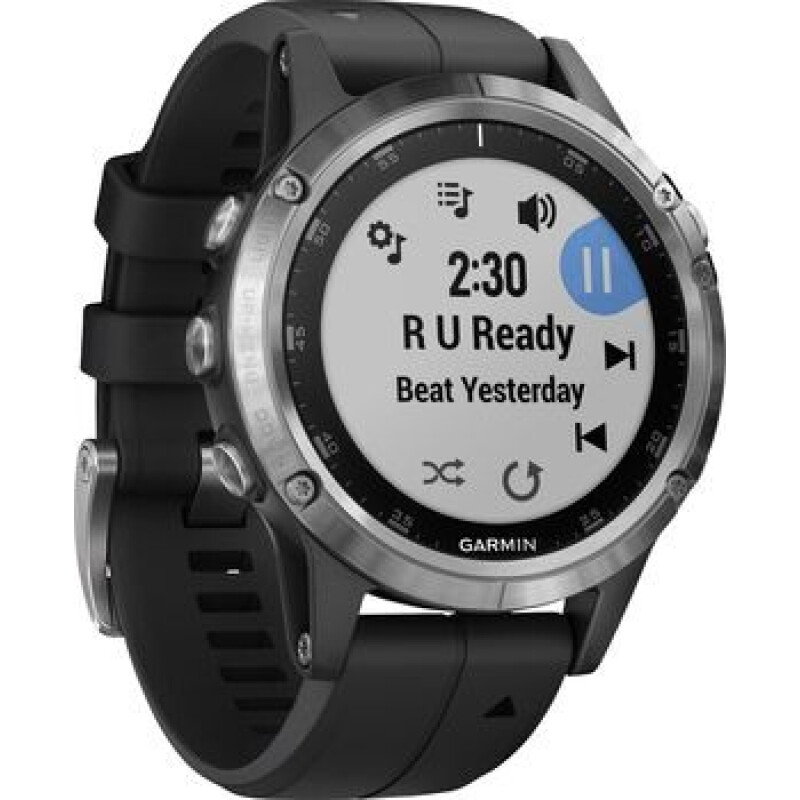 Garmin fēnix 5 Plus Smartwatch   Schwarz
