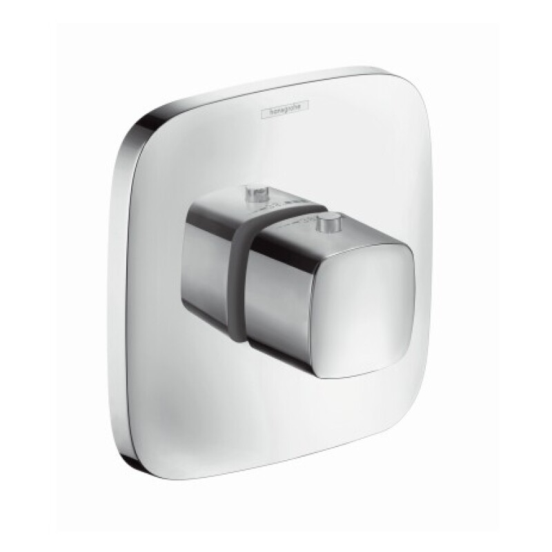 Hansgrohe Thermostat Unterputz Puravida Highflow Fertigset chrom 15772000
