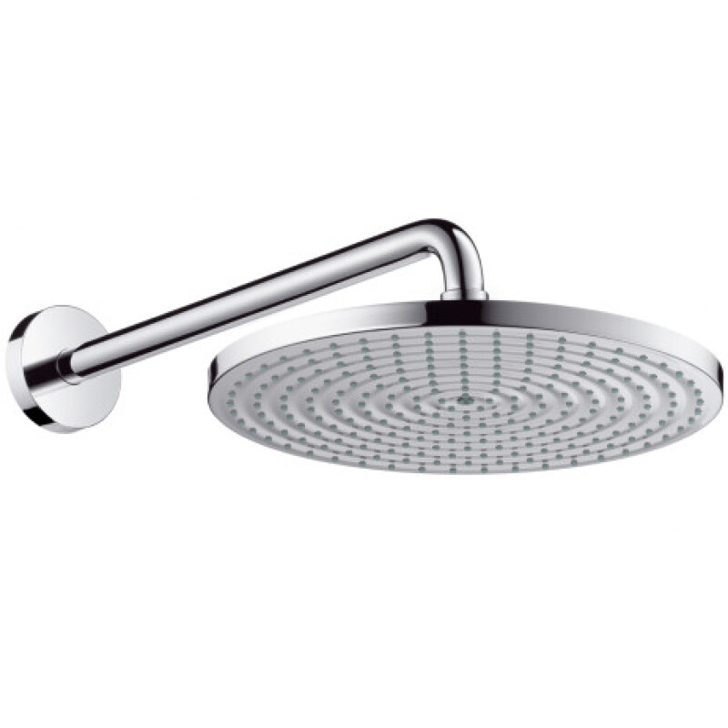 Hansgrohe Tellerkopfbrause Raindance air 300mm mit Brausearm chrom