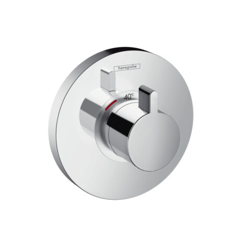 Hansgrohe Thermostat Unterputz ShowerSelect S Highflow Fertigset chrom, 15 x 1000