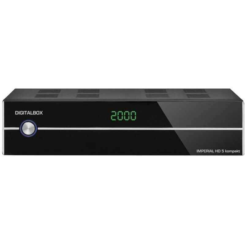 IMPERIAL HD 5 kompakt HDTV free-to-air Satellitenreceiver