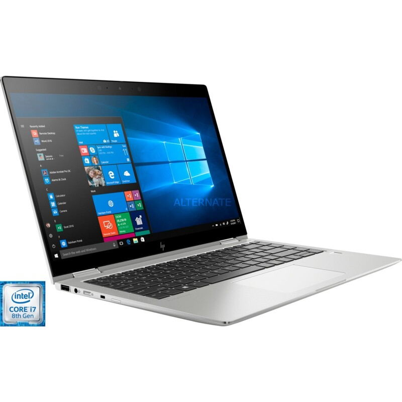HP EliteBook x360 1040 G6 35.6 cm (14 Zoll) Windows®-Tablet / 2-in-1 Intel Core i7 i7-8565U 16 GB DDR4-RAM 512 GB SSD LT