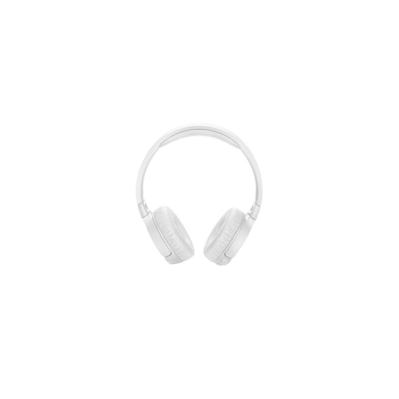 JBL TUNE600BTNC, On-ear Kopfhörer Bluetooth Weiß