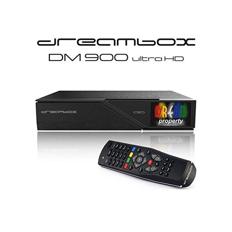 Dreambox DM900 UHD 4K E2 Linux Receiver mit 1x DVB-S2 FBC Twin Tuner