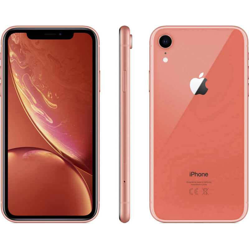 Apple iPhone XR 128GB koralle