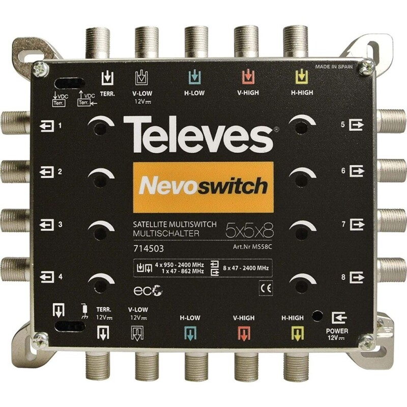 Televes MS58C Nevoswitch Multischalter