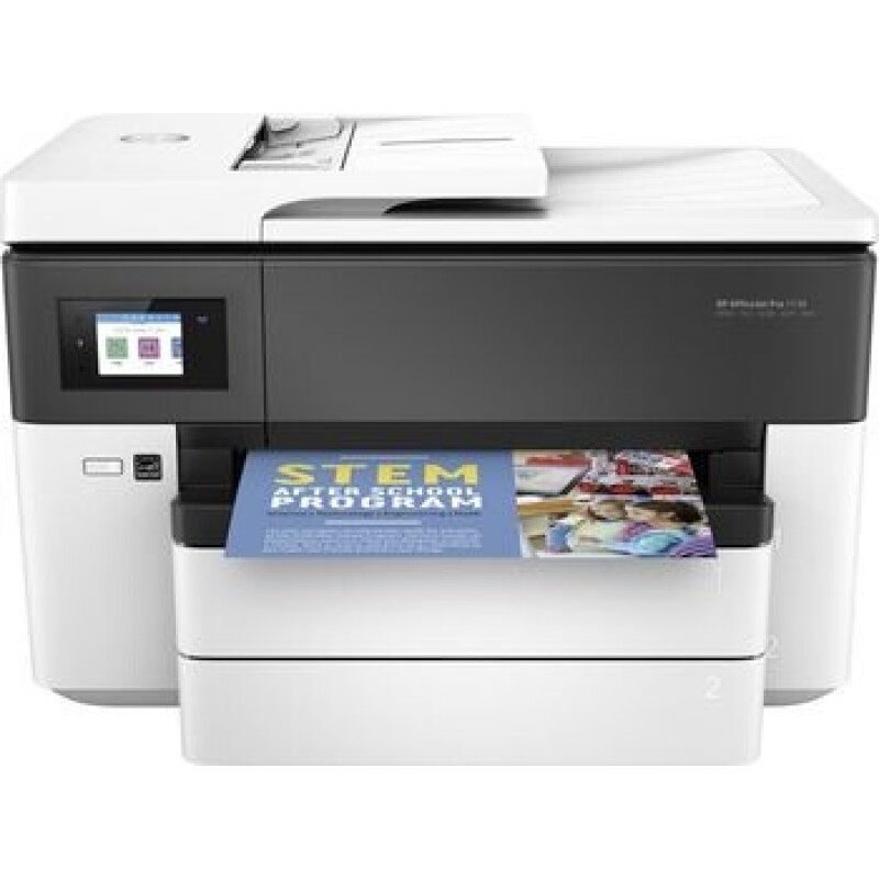 HP Officejet Pro 7730 Wide Format All-in-One A3 Tintendrucker Multifunktion mit Fax - Farbe - Tinte