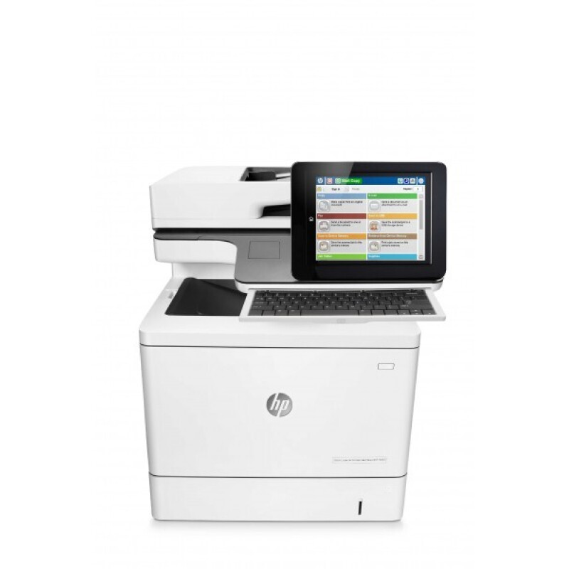 HP Color LaserJet Enterprise Flow M577c MFP 4 in 1 Farblaser-Multifunktionsdrucker weiß