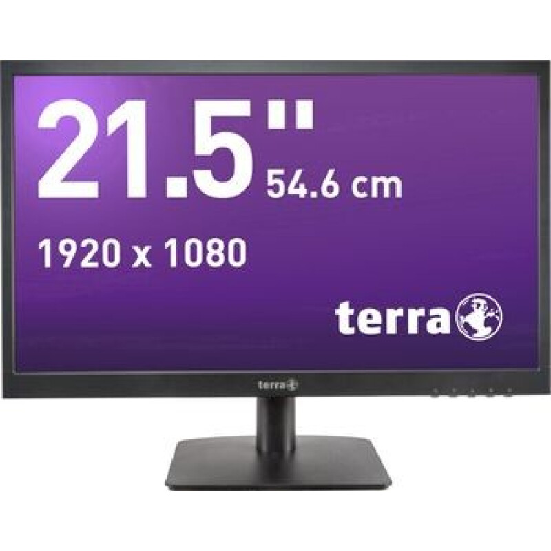 Terra LED 2226W LED-Monitor 54.6 cm (21.5 Zoll) EEK A+ (A++ - E) 1920 x 1080 Pixel Full HD 5 ms Audio-Line-in,