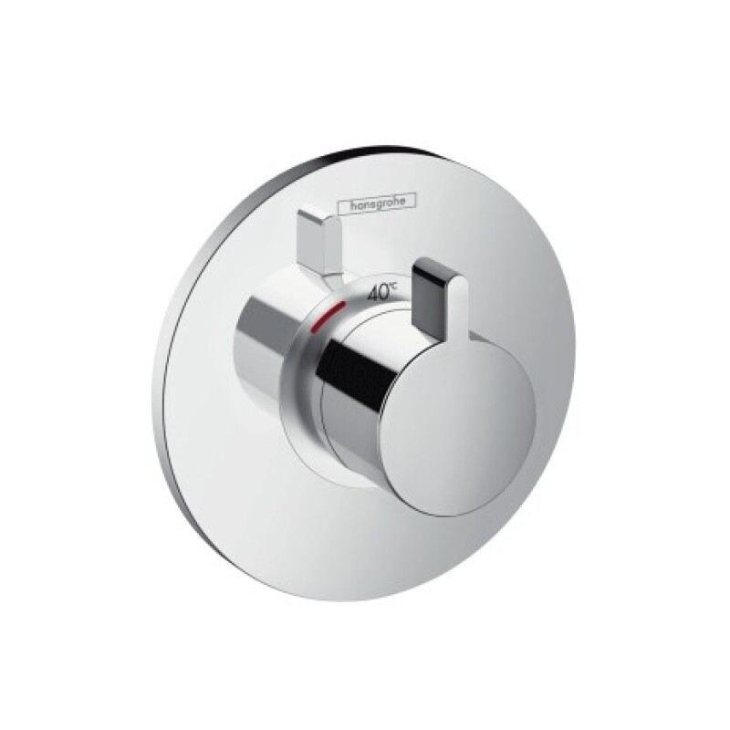 Hansgrohe Thermostat Unterputz Ecostat S Highflow Fertigset chrom, 15756000