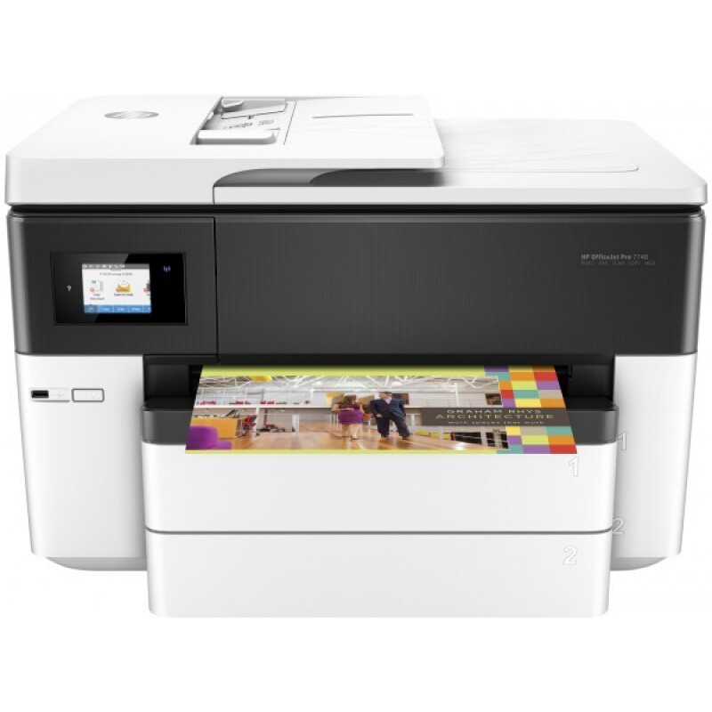HP OfficeJet Pro 7740 All-in-One-Großformatdrucker