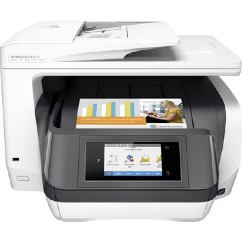 HP Officejet Pro 8730 All-in-One Tintendrucker Multifunktion mit Fax - Farbe - Tinte