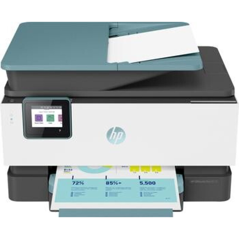 HP OfficeJet Pro 9015 All-in-One Oasis Farb Tintenstrahl Multifunktionsdrucker A4 Drucker, Scanner,