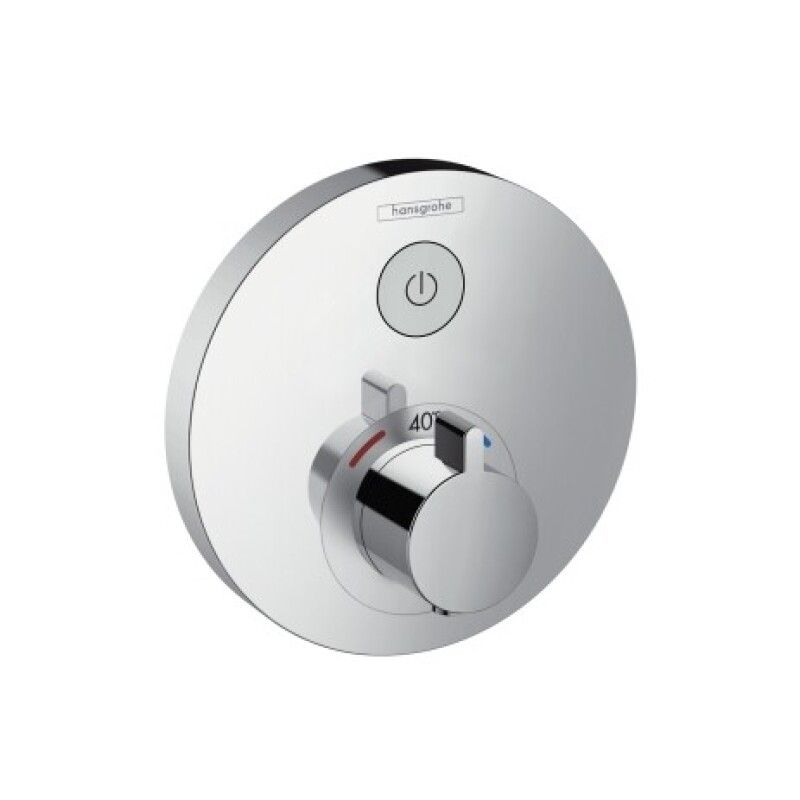 Hansgrohe Thermostat Unterputz ShowerSelect S Fertigset 1 Verbraucher chrom, 15744000