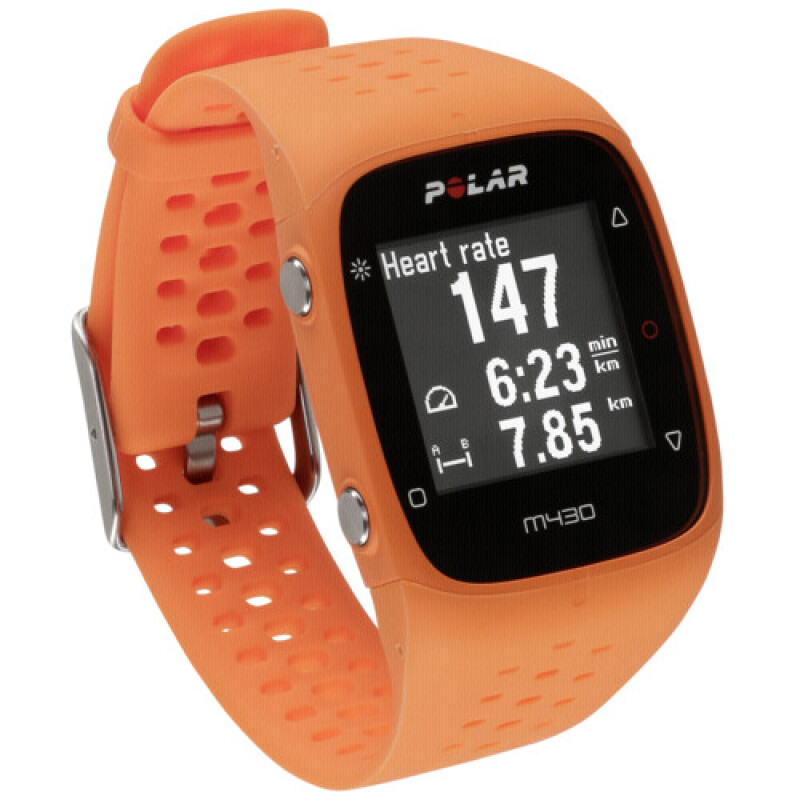 POLAR M430 M/L Fitnesstracker orange