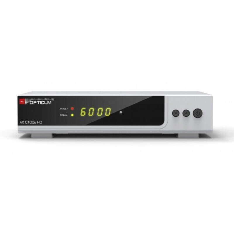 Opticum AX C100s HD mit PVR Digitaler Kabelreceiver