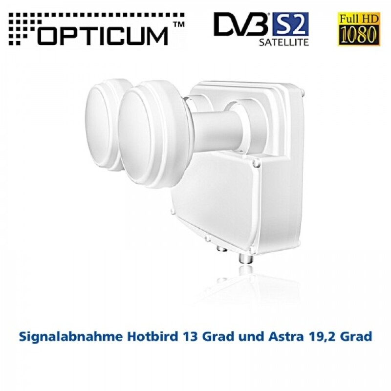 Twin-Monoblock-LNB RED OPTICUM LMTP-04H