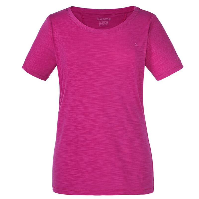 Schöffel T Shirt Verviers 1 - T-Shirt Women [Very Berry] (Größe: 52)