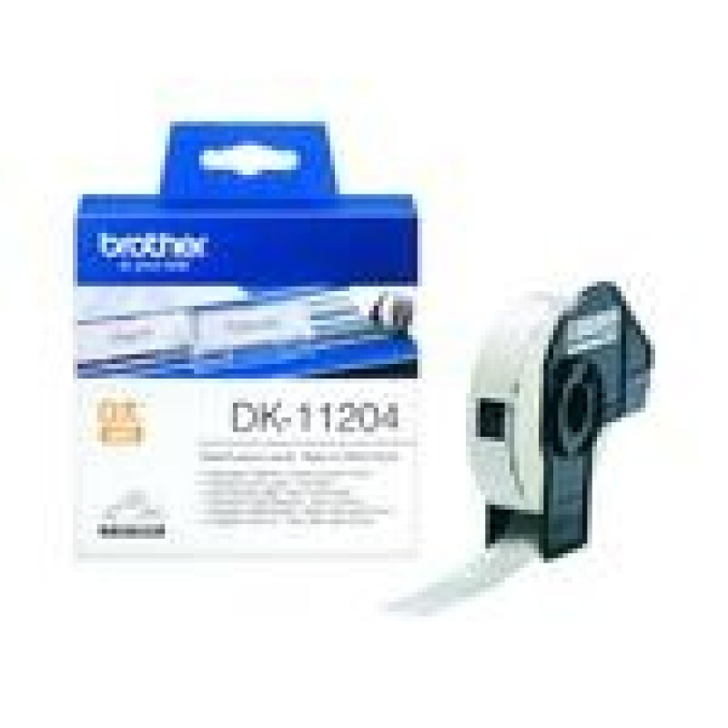 Brother DK-11204 - Mehrzwecketiketten - 400 Etikett(en) - 17 x 54 mm
